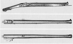 火縄式銃砲(銘「弘化三午冬 同田貫内田四郎八正頼」)の画像