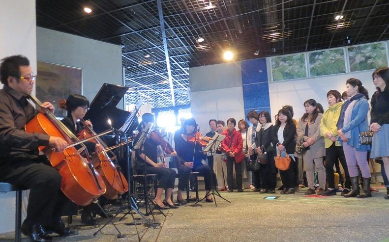 コンサートの様子の写真