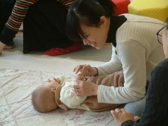 子育てネットワーク 参加者親子の写真