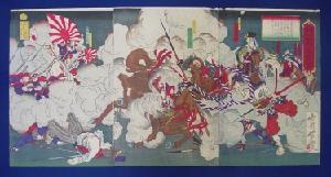 西南の役錦絵の画像