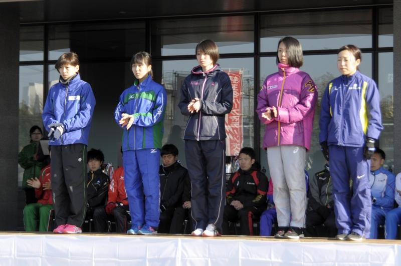 女子10キロメートル招待選手